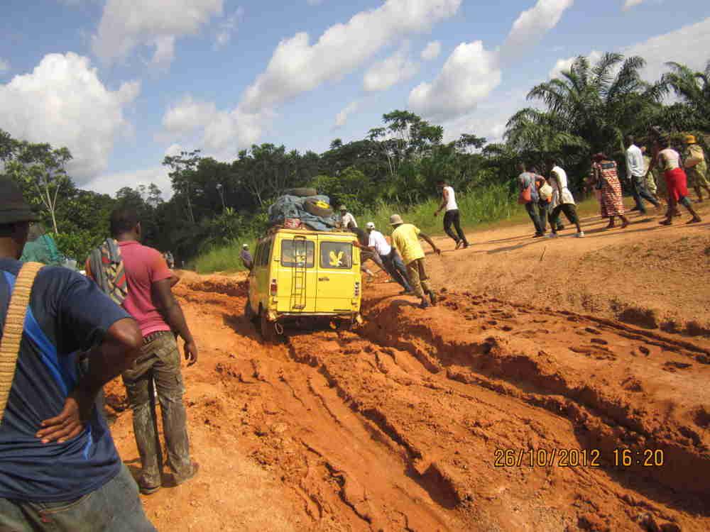 Route du Nkam non entretenue faute de bulldozer