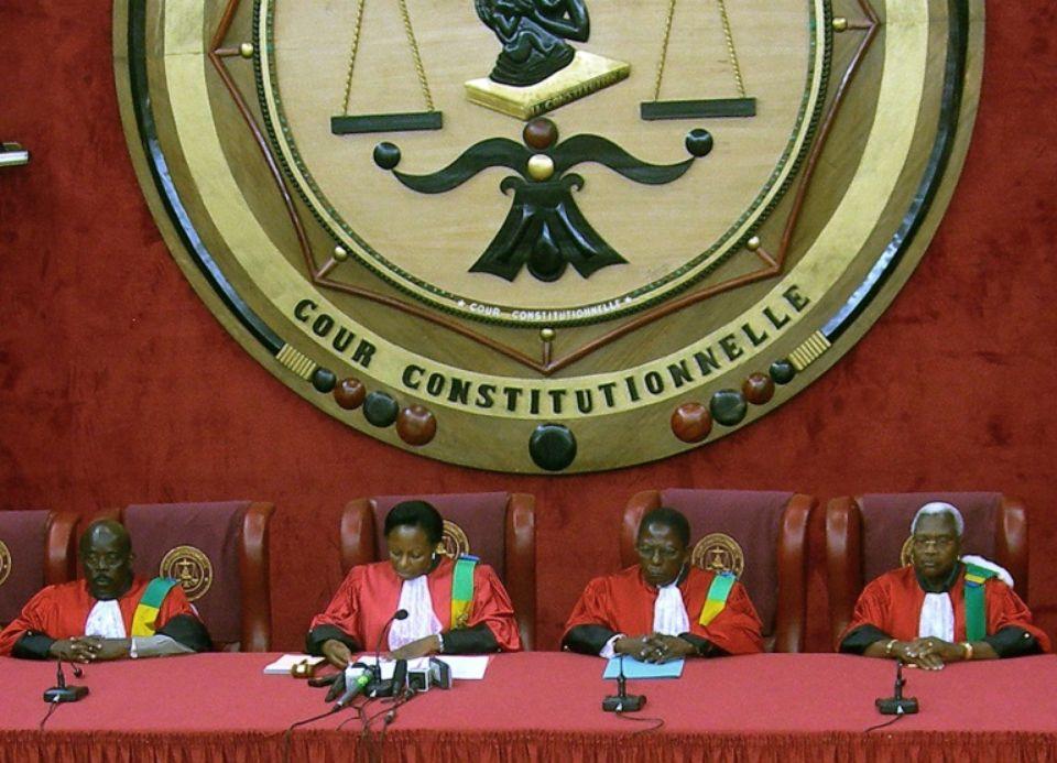 Les membres de la Cour constitutionnelle nommés pour 9 ans
