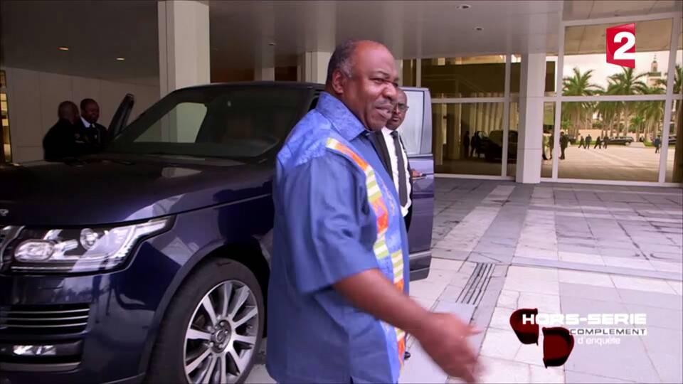 Ali Bongo a reçu une équipe de France 2 dans son palais