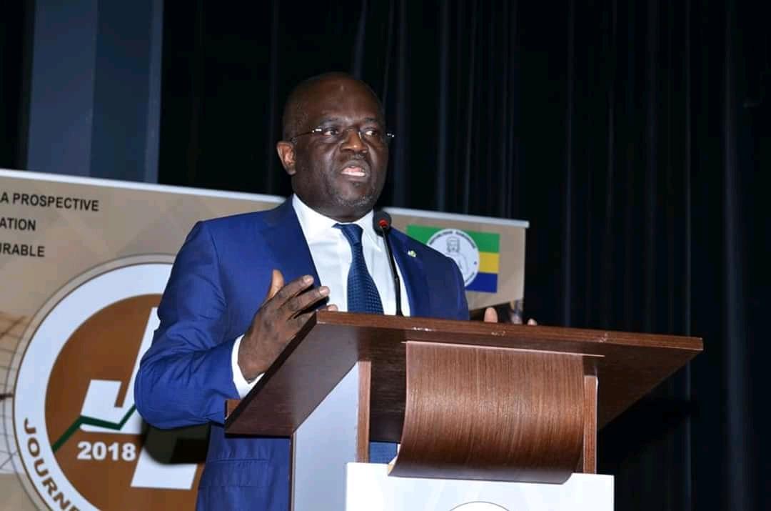 Le ministre de l'Economie, Régis Immongault, plaide en faveur des PME