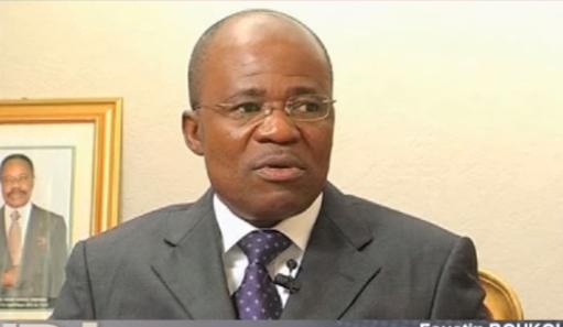 Faustin Boukoubi, le Sécretaire général du PDG démissionnaire